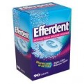 Efferdent Anti-Bacterial Denture Cleanser Tablets 90CT Box