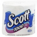 Scott Bath Tissue 1000 Sheets 1-Ply Unscented 1CT