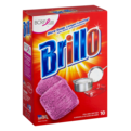 Brillo Steel Wool Soap Pads 10CT Box