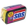 SOS Scrubber Sponge Heavy Duty 3CT PKG