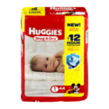 Huggies Snug and Dry Diapers Size 1 (8-14LB) Jumbo Pack 44CT PKG