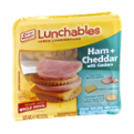 Lunchables Ham & Cheddar with Crackers 3.2oz PKG