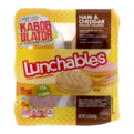Lunchables Ham & Cheddar w Vanilla Cookie 3.5oz PKG