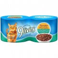 9 Lives Wet Cat Food Select Flaked Tuna & Cheese 4PK of 5.5oz Cans 22oz PKG