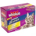 Whiskas Tender Bites Variety Pack Favorites 12Pk of 3oz Bags