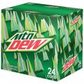 Mountain Dew 24 Pack of 12oz Cans