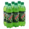 Mountain Dew 6 Pack of 16.9oz Bottles