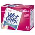 Wet Ones Moist Towelettes Singles Anti-Bacterial Fresh Scent 24CT Box