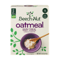 Beech-Nut Cereal For Baby Oatmeal 8oz Box