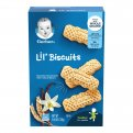 Gerber Graduates Lil Biscuits Vanilla Wheat 18CT 4.44oz Box