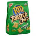 Nabisco Ritz Toasted Chips Sour Cream & Onion 8.1oz PKG