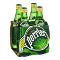 Perrier 4PK of 11.15oz Bottles