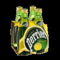 Perrier Sparkling Mineral Water Lemon 4PK of 11.15oz Bottles