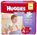 Huggies Little Movers Diapers Size 4 (22-37LB) Jumbo Pack 24CT PKG