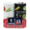 Morton Salt & Pepper Shakers 5.25oz. PKG