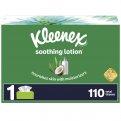 Kleenex Facial Tissue Lotion with Aloe & Vitamin E 120CT Box