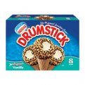 Nestle Drumstick Vanilla Sundae Cones 8CT 4.6oz EA 36.8oz Box
