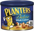 Planters Deluxe Whole Cashews 8.5oz Can