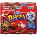 Dannon Danimals Drinkable Yogurt Strawberry Explosion 6PK of 3.1oz BTLS
