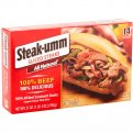 Steak-Umm Frozen Beef Sandwich Steaks 14CT 21oz PKG