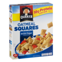 Quaker Oatmeal Squares Brown Sugar Cereal 14.5oz Box