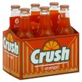 Orange Crush Soda 6PK 12oz BTLS