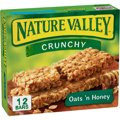 Nature Valley Crunchy Granola Bars Oats N Honey 12CT 8.9oz Box