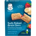 Gerber Graduates Cereal Bars Strawberry Banana 8CT 5.5oz. Box