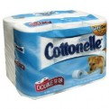 Kleenex Cottonelle Ultra Bath Tissue Double Roll 2-Ply Unscented 12CT