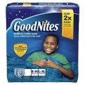Goodnites Boys Underpants Large 60-125LB Mega Pack 25CT