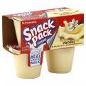 Snack Pack Pudding Vanilla 3.25oz. EA 4CT
