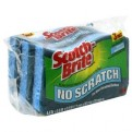 Scotch-Brite No Scratch Multi-Purpose Scrub Sponge 3CT