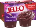 Jell-O Chocolate Pudding 4CT