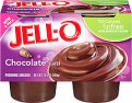 Jell-O Chocolate Pudding Fat Free 4CT
