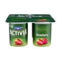 Dannon Activia Probiotic Yogurt Strawberry 4oz EA 4PK