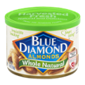 Blue Diamond Almonds Whole Natural 6oz Can