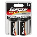 Energizer Max Batteries Size D 4CT