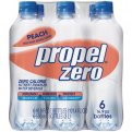 Propel Zero Vitamin Enhanced Water Peach 16.9oz Bottles 6PK