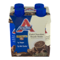 Atkins Dark Chocolate Royale Shake 4CT 11oz EA