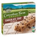 Cascadian Farm Organic Chewy Granola Bars Choc Chip 6CT 7.4oz Box