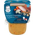 Gerber 3rd Foods Autumn Vegetable & Turkey Dinner Lil Bits 10oz 2PK