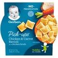 Gerber Graduates Pasta Pick-ups Chicken & Carrot Ravioli 6oz PKG
