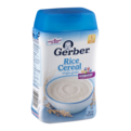 Gerber Rice Cereal Single Grain 8oz Tub