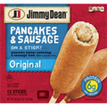 Jimmy Dean Pancakes and Sausage on a Stick 12CT 30oz PKG