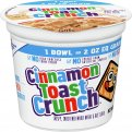 General Mills Cinnamon Toast Crunch Cereal Single 2oz Cup