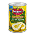 Del Monte Pear Halves in 100% Juice 15oz Can