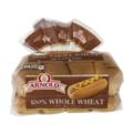 Arnold 100% Whole Wheat Hot Dog Rolls 8CT