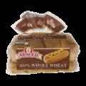 Arnold 100% Whole Wheat Hot Dog Rolls 8CT