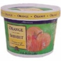 Store Brand Sherbet Orange 64oz PKG