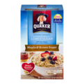 Quaker Instant Oatmeal Maple & Brown Sugar Lower Sugar 10PK 11.9oz Box